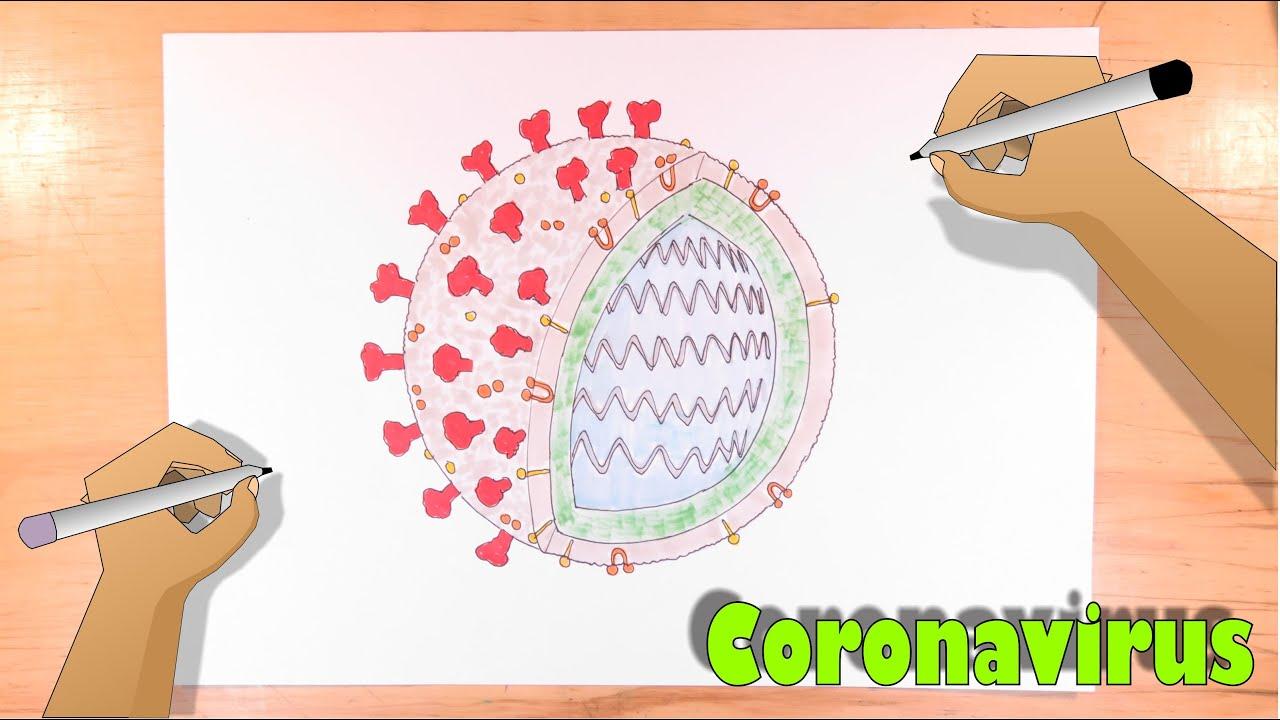 Dibuja El Virion Del Coronavirus Covid 19 Youtube
