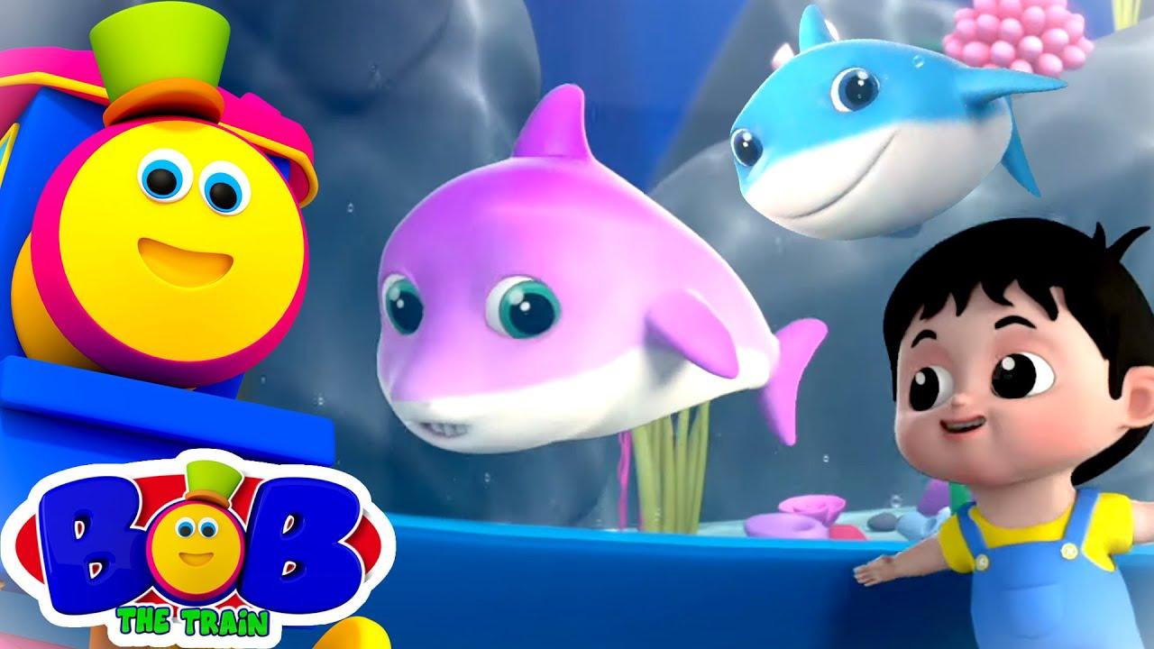 Download Baby Shark Song | Baby Shark Doo Doo Doo + More Nursery Rhymes & Kids Song | Bob The Train | Kids Tv
