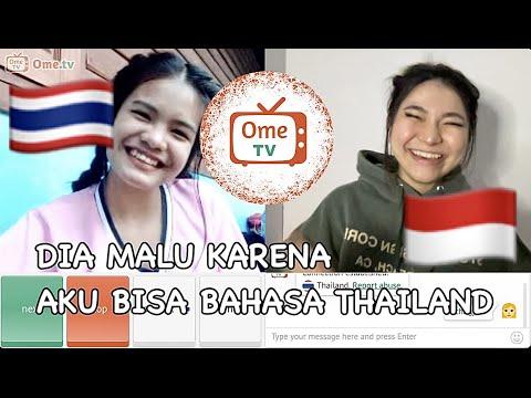 (ENG & INDO SUB) Ngobrol sama adek orang Thailand🇹🇭 di Ome TV