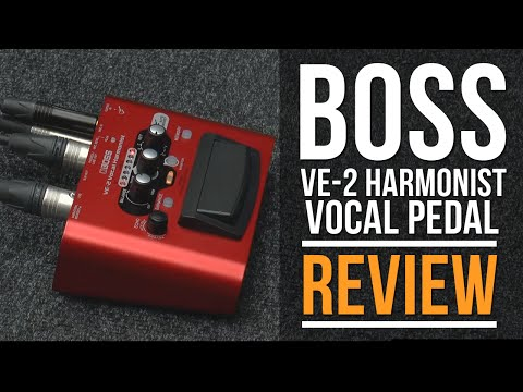 VE-2 VE-2 BOSS Vocal Harmonist Effects Processor Stompbox Guitar Pedal,