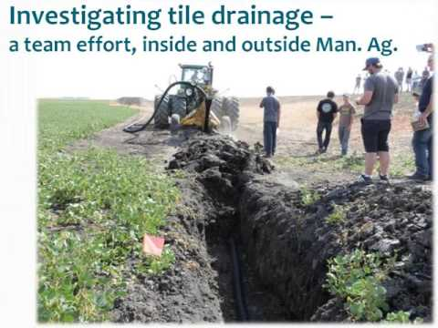 "Tile Drainage Webinar 3 - ""Tile Drainage, the Watershed, and the Environment"""