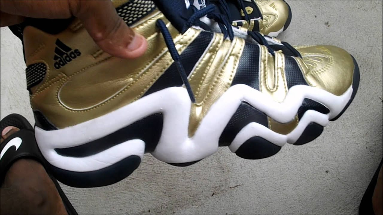 check out 1d79f 71575 Adidas Crazy 8 Gold Review