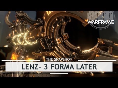 Warframe: Lenz, Small Mag With a Massive Load - 3 Forma Build [thesnapshot]
