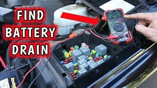 How to Find a Parasitic Battery Drain!!!