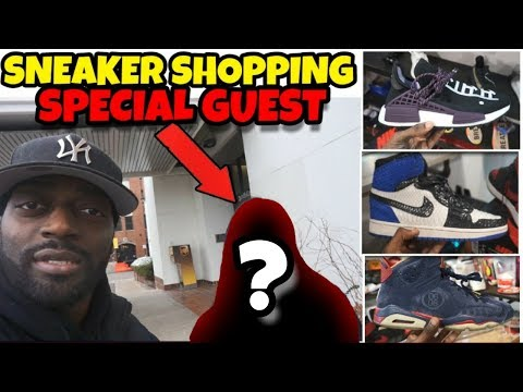 Sneaker Shopping With A SPECIAL GUEST IN CHICAGO!!! HEAT HEAT HEAT
