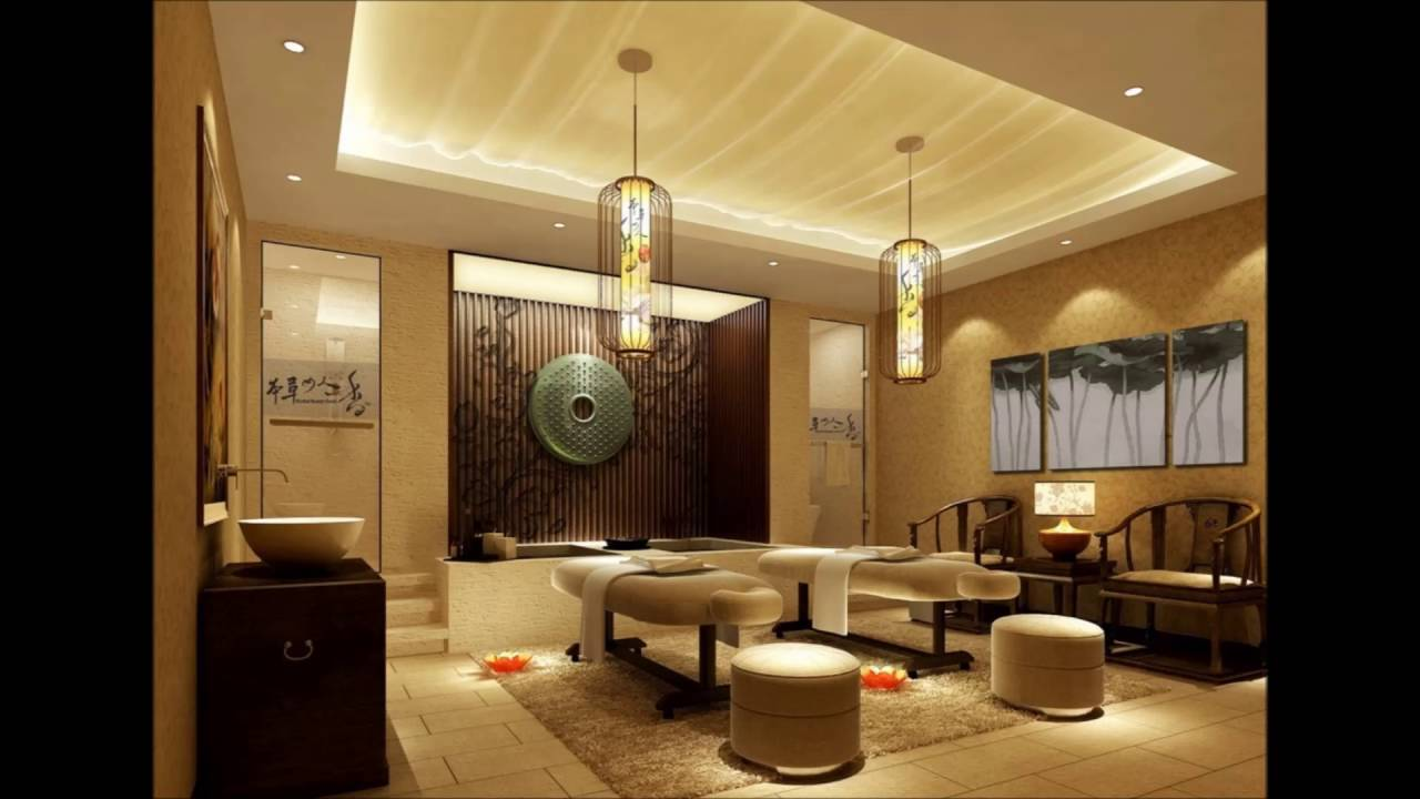 Massage Room Interior Design China YouTube