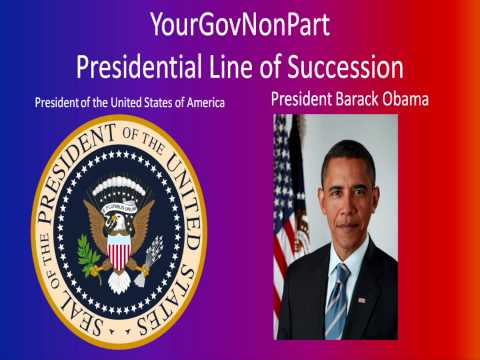 Presidential Line of Succession (Wide Format)