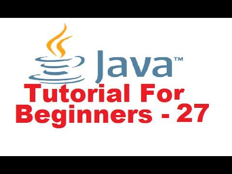 Java Tutorial For Beginners 27 - Method Overriding in Java