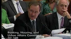 Senator Crapo offers GSE amendment at the Conference Committee on Financial Regulation Reform