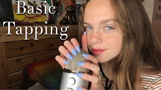 ASMR Tapping on Different Objects *LONG NAILS