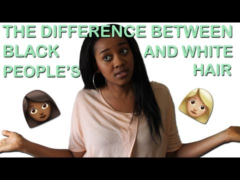 The Difference Between Black and White Hair   Why Are Black and White People's Hair Different?