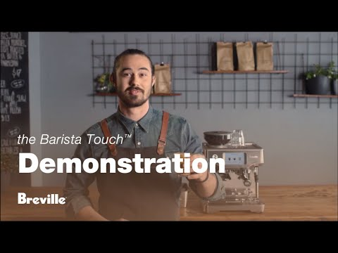 The Barista Touch | Learn to make third wave specialty coffee with a touchscreen | Breville USA