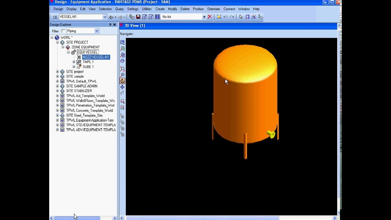 Pdms sample project free templates