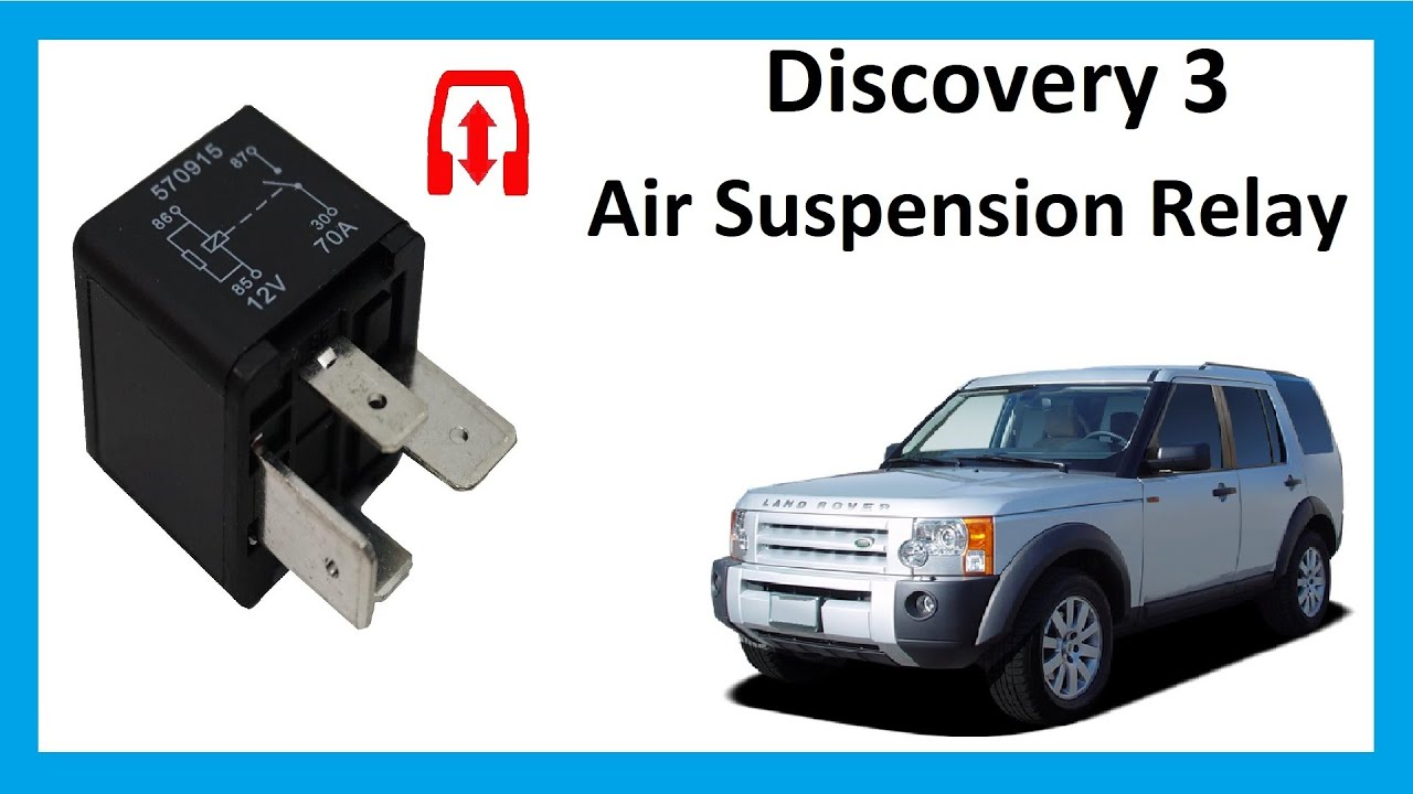 Land Rover Discovery 3 Air Suspension fault & relay replacement