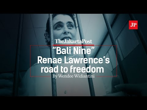 """Bali Nine"" Renae Lawrence's road to freedom"