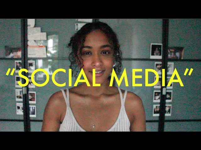 Social Media - spoken word poetry