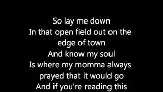 If You're Reading This- Tim McGraw w/ Lyrics
