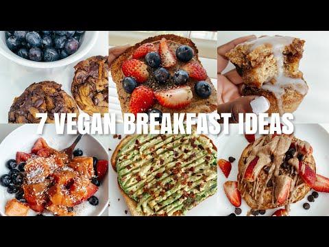 a week of vegan + gluten free breakfasts | 7 vegan gf breakfast recipes + ideas