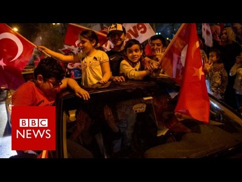 Turkey referendum: Erdogan wins vote to expand presidential powers - BBC News