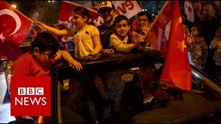 Turkey referendum: Erdogan wins vote to expand presidential powers - BBC News