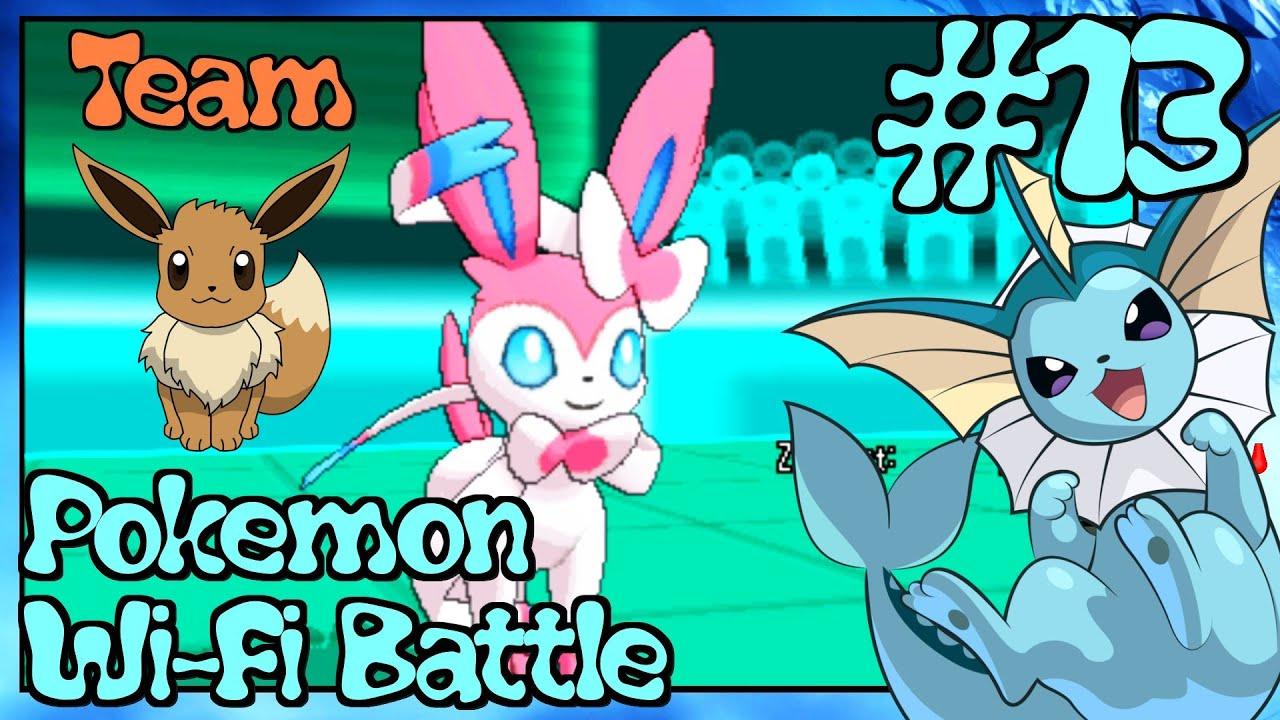 evoli team zerstört 6v6  pokemon x and y wifi battle 13