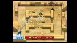 Wii Play Tanks Mission 100 Completed