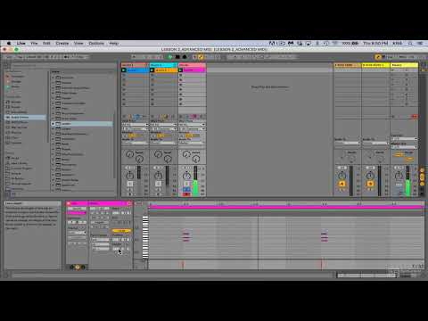 Ableton Live 202: Advanced MIDI Techniques - 2. Creating Variations with MIDI Clip Properties