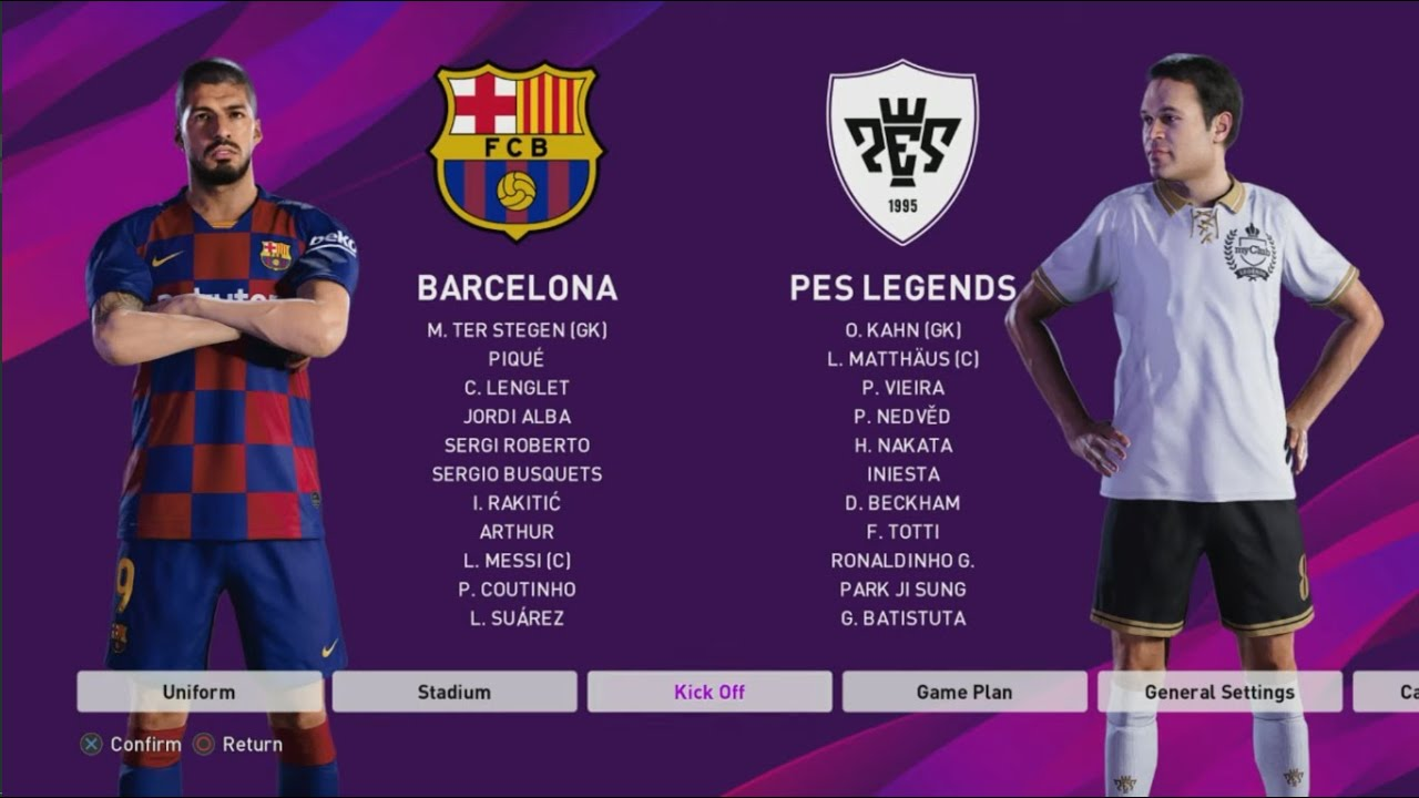 Pes 2020 Review.Pes 2020 First Official Review Menu Gameplay