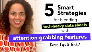 Bonus Tips & Tricks: Smart Strategies for Blending Tech Heavy Data with Attention Grabbing Features
