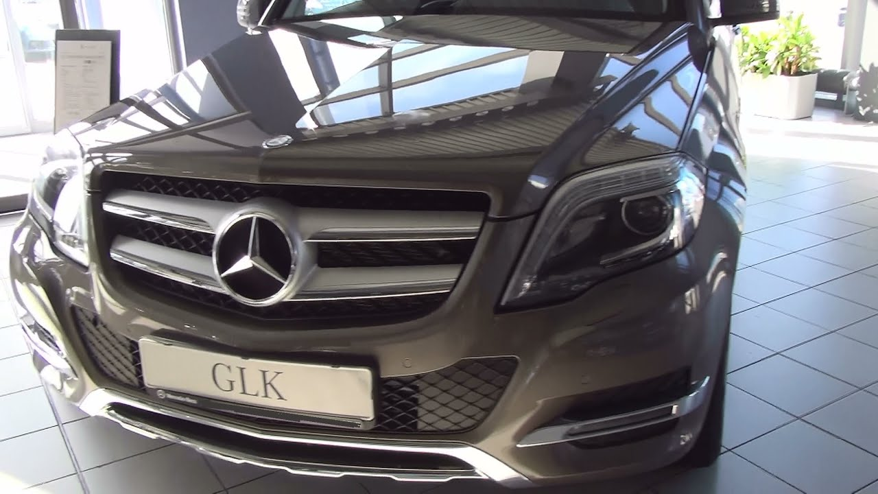 mercedes benz glk 220 cdi 4matic exterior and interior in. Black Bedroom Furniture Sets. Home Design Ideas