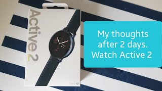 Galaxy Watch Active 2 (Stainless Steel 40mm) impressions after 2 days!