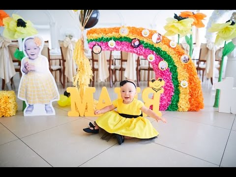 Детский День Рождения! Видеоролик с медового Дня Рождения нашей Майи!
