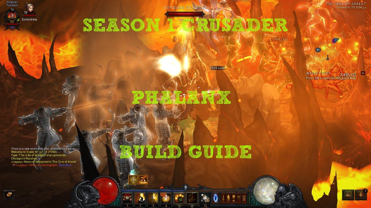 Season  Phalanx Build Diablo