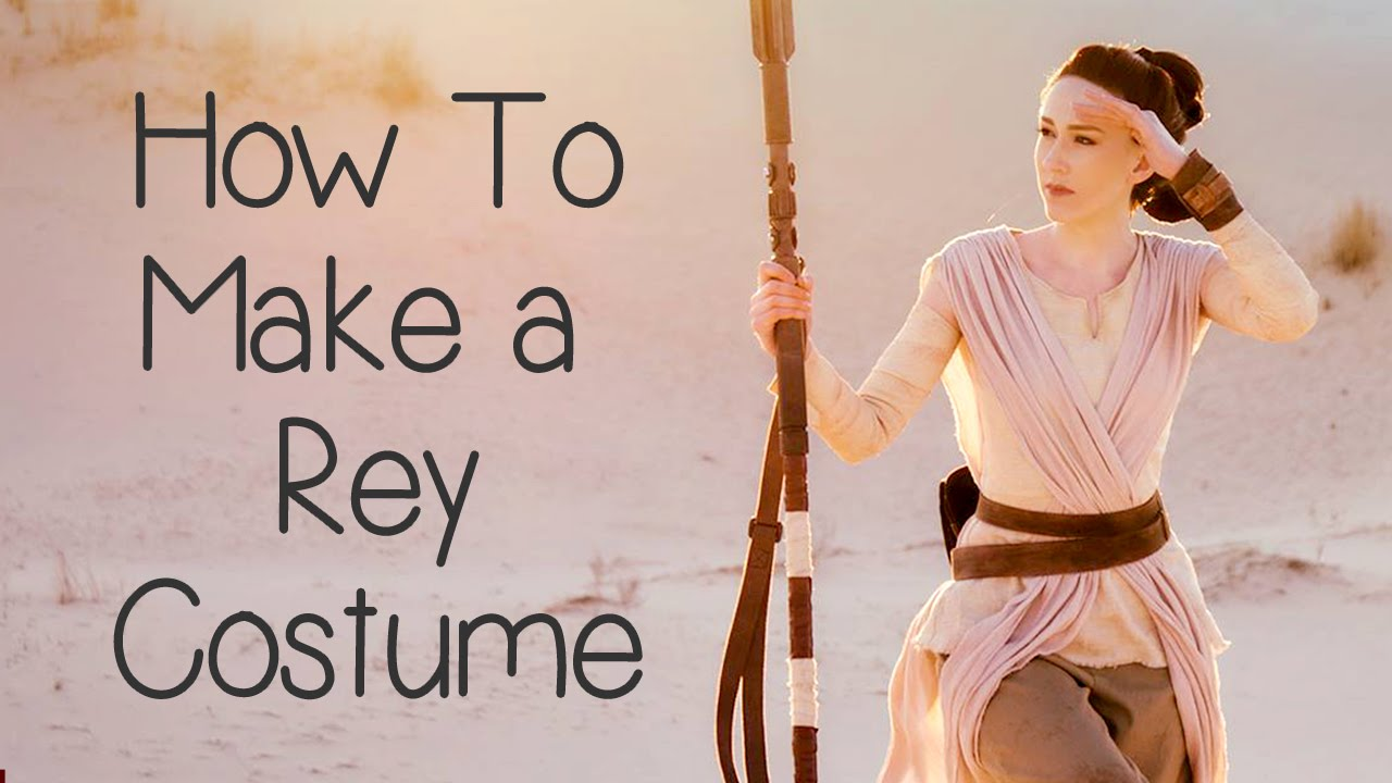 How to make a rey costume star wars atelier heidi youtube solutioingenieria