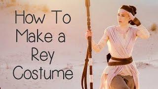 How to Make a Rey Costume (Star Wars) - Atelier Heidi