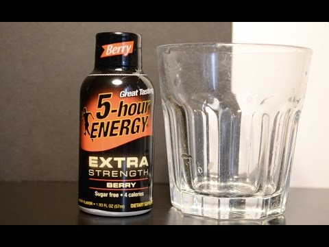 5 - Hour Energy Berry - Energy Drink Review