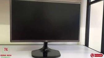 Màn hình máy tính LG 24mp56 viền Titan