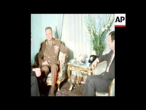 SYND 11-5-72 SOVIET DEFENCE MINISTER, MARSHAL GRECHKO VISITS SYRIA