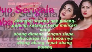 Cover images Duo Serigala Abang Goda lirik