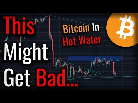 Bitcoin Rejected From $6,600 - This May Get Very Bad...
