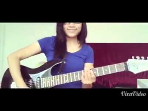 Anggun MIMPI  gitar  Lina