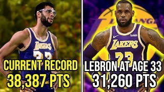 Just How Close Is Lebron To BREAKING The All-Time Scoring Record?