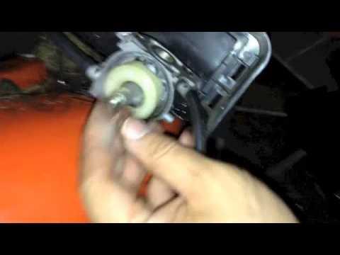 repair mower that won't start-Husqvarna 6021P-cleaned carburetor