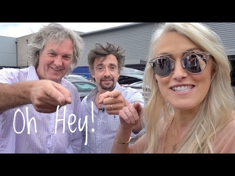 James May & Richard Hammond with Supercar Blondie