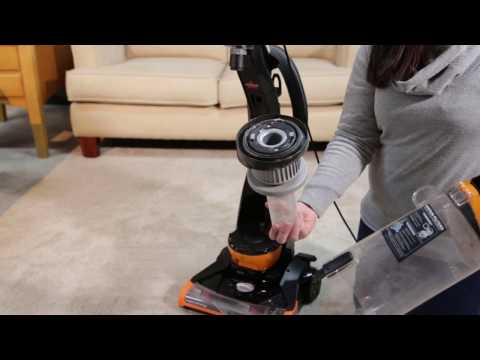 CleanView® Bagless Vacuum Cleaner - Cleaning Dirt Tank