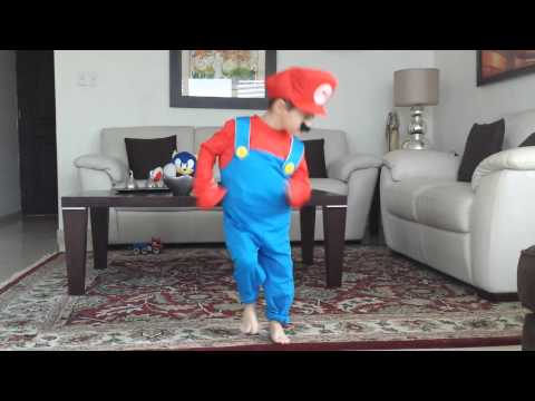 Best 4 year old dance to Mario Bros Just Dance 3