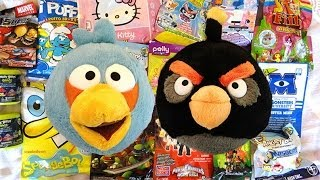 Angry Birds & Friends blind bags, Mash'ems, Power Rangers, Marvel, SpongeBob