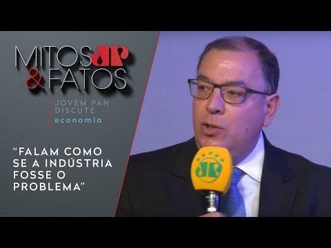 """Presidente Da Abimaq: """"falam Como Se A Indústria Fosse O Problema"""""""