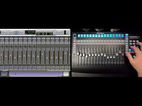 PreSonus–FaderPort 16 Automation Controls with Pro Tools
