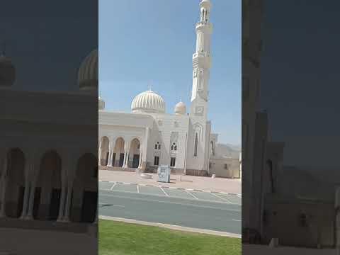 #shorts DUBAI 2021.Белоснежная мечеть в Корфаккане.Snow-white mosque in Korfakkan.